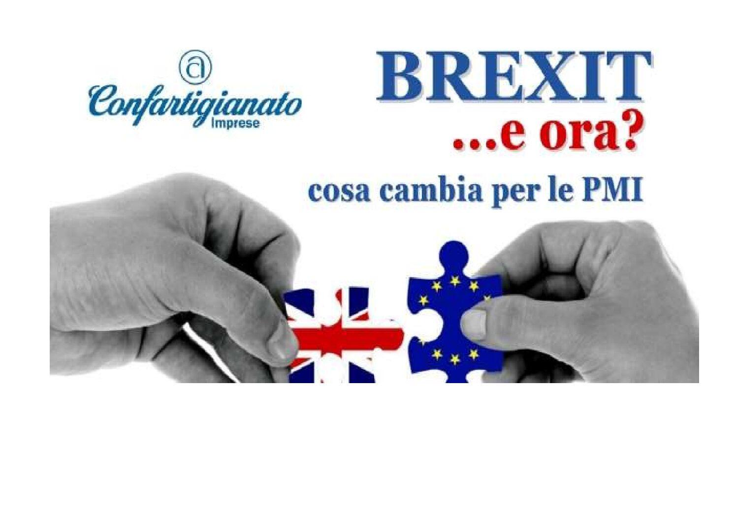 Mercati Esteri – Brexit: Webinar di Confartigianato 4 febbraio ore 15